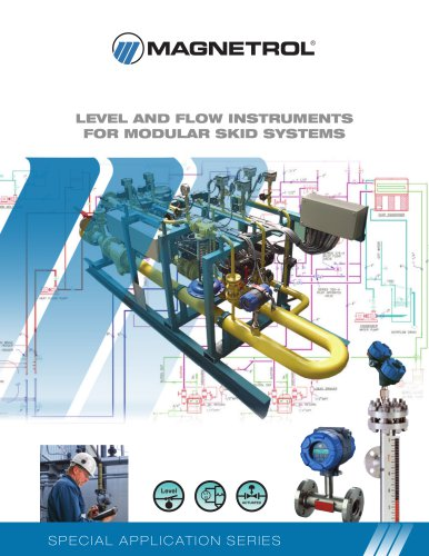 LEVEL AND FLOW INSTRUMENTS FOR MODULAR SKID SYSTEMS