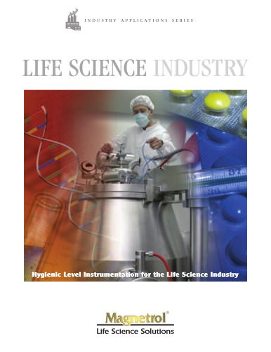 Life Science Industry - Hygienic Level Instrumentation for Life Science Industry