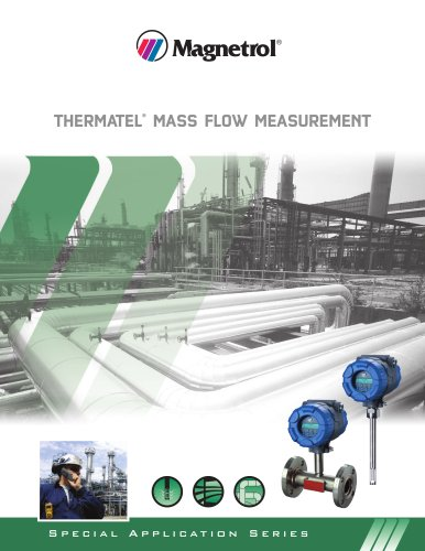 Thermatel® Mass Flow Meter Applications