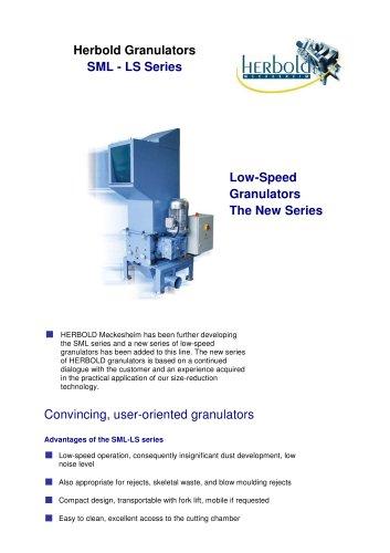 Granulators Series SML-LS