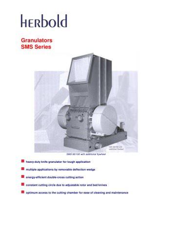 Granulators SMS Series