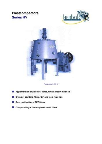 Plastcompactors Series HV