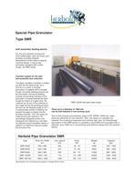 Special Pipe Granulator Type SMR