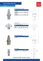 TOOL HOLDERS CATALOGUE MARBLE-GLASS - 12