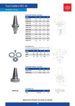 TOOL HOLDERS CATALOGUE MARBLE-GLASS - 18