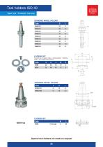 TOOL HOLDERS CATALOGUE MARBLE-GLASS - 26