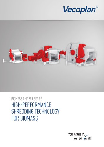 Biomass chippers series