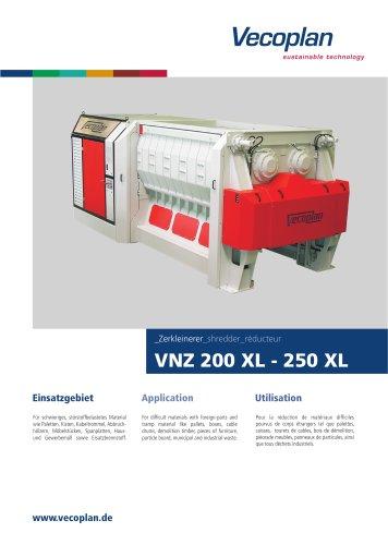 VNZ 200 XL - 250 XL