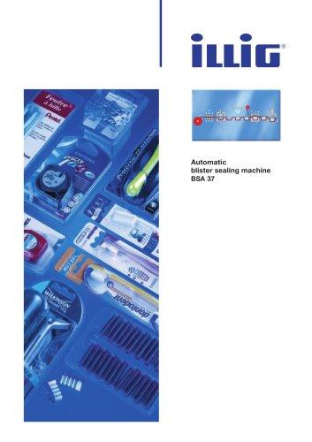 Automatic blister sealing machine BSA 37