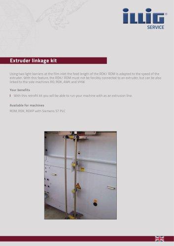 Extruder linkage kit