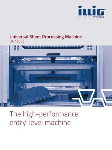Universal Sheet Processing Machine UA 100Ed