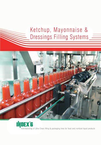 Ketchup, Mayonnaise and Dressings Filling