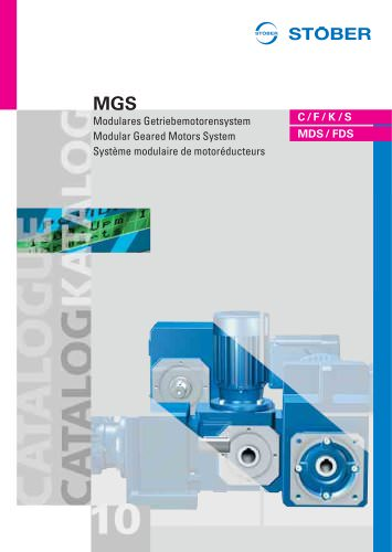MGS Modular Geared Motors System
