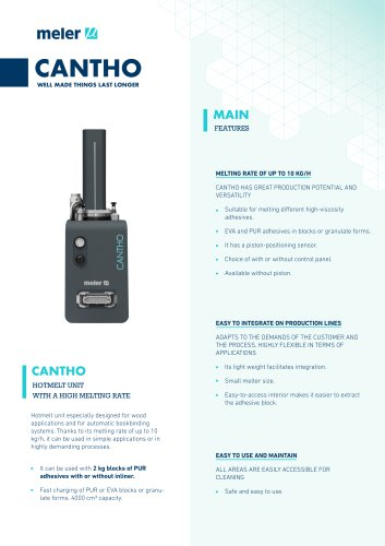 Cantho, high melting rate