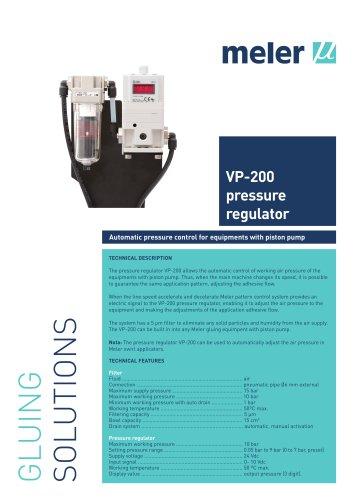 VP-200 PRESSURE REGULATOR