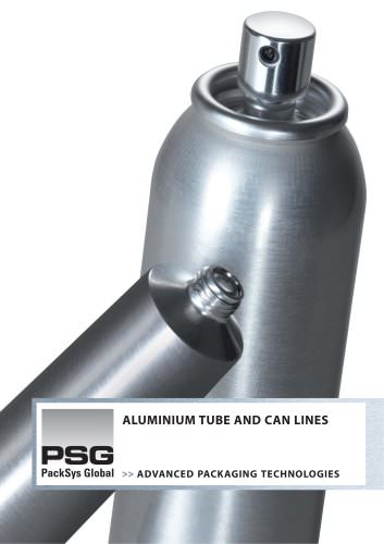 Aluminium tube and can lines