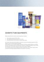 cosmetic tube machinery - 7