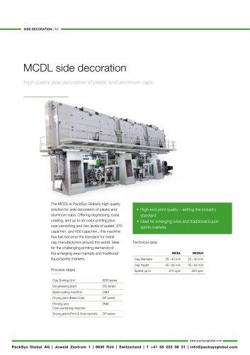MCDL side decoration