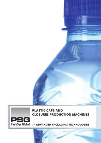 plastic caps production machines