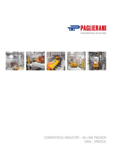 CEMENTIOUS INDUSTRY - IN LINE PACKER
