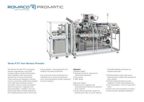 Romaco Promatic P 91