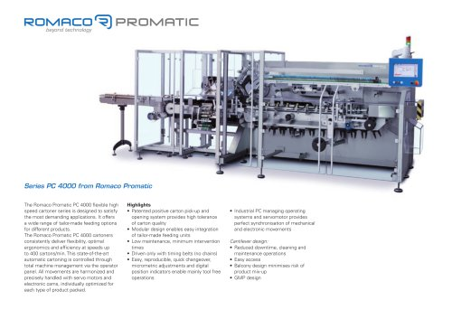 Romaco Promatic PC 4000