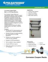 Corrosion Coupon Racks Eco Specifications - 1