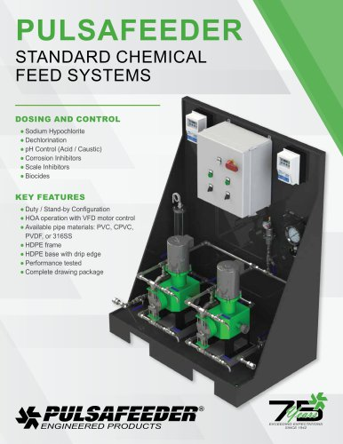 Standard Chemical Feed System - Diaphragm