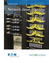 Eaton Network Closet Solutions