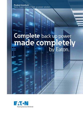 Eaton Supercapacitor Solution