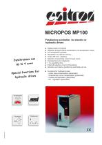 Positioning-controller Micropos MP 100
