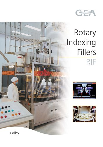 Rotary Indexing Filler