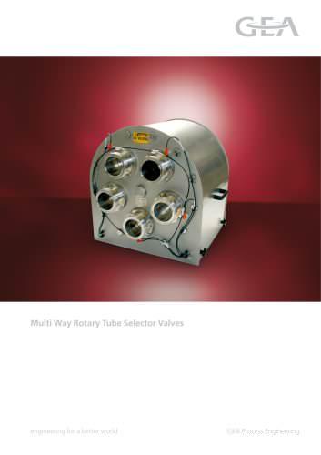 Rotary Tube Selector Valve