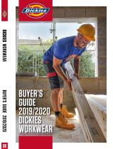 Dickies Workwear Buyers Guide 2019-2020