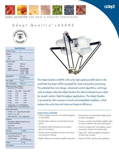 Adept Quattro s650HS