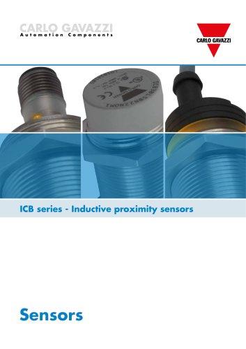 ICB series - Inductive proximity sensors