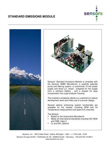 Standard Emissions Module