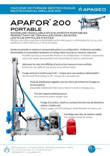 APAFOR® 200