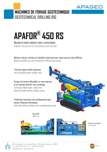 APAFOR® 450 RS