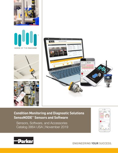 Condition Monitoring and Diagnostic Solutions SensoNODE™ Sensors and Software