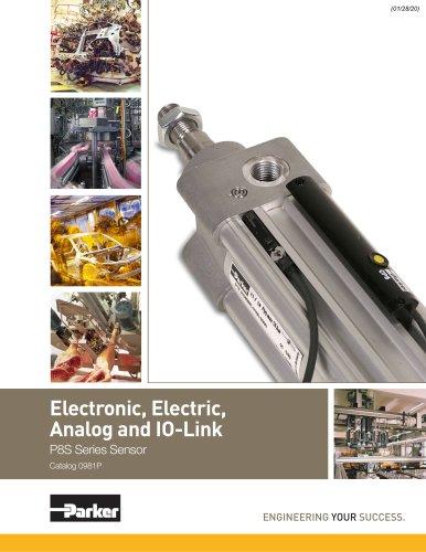 Electronic, Electric, Analog and IO-Link