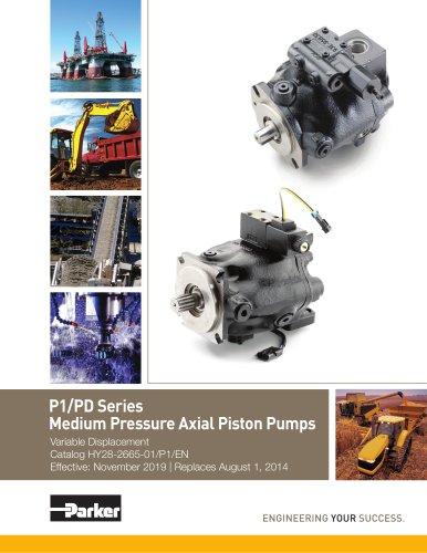 P1/PD Series Medium Pressure Axial Piston Pumps