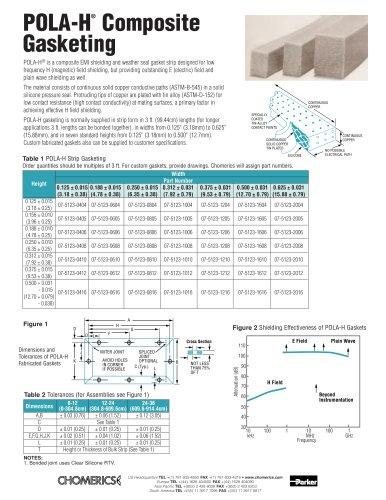 POLA-H® Composite Gasketing