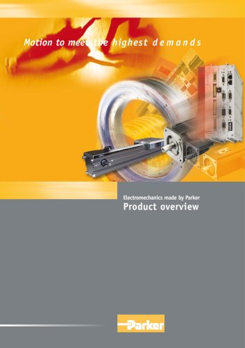 Product overview Parker Electromechanical