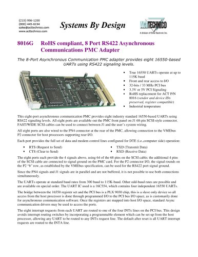 8016G-RS422-PMC-adapter