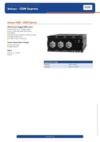 bo!sys-1020 - COM Express