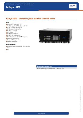 bo!sys-5020 - ITX