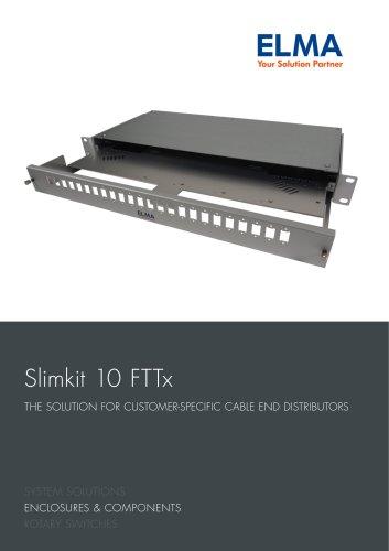 Brochure Enclosure Slimkit 10 FTTx