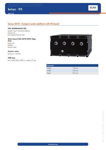 Datasheet bo!sys-5010 - ITX