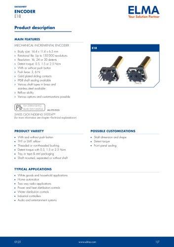E18 Encoder_Datasheet_E